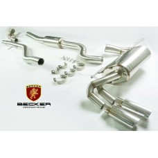 Becker Catback 13+ BMW 228i F22 N20B 2 Dr. Coupe Turbo Exhaust System. PEX12958