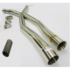 Becker Catback 07-13 Mercerdes S500/550 W221 Center Exhaust X-Pipe for Long Wheel Base(LWB) 2Pc. W221 S/P L
